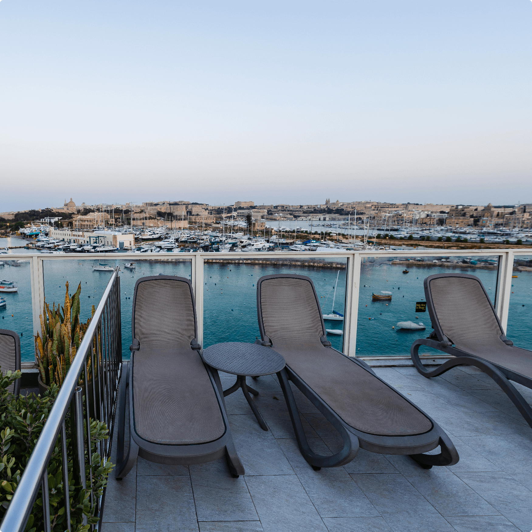 Seaviews from the terrace