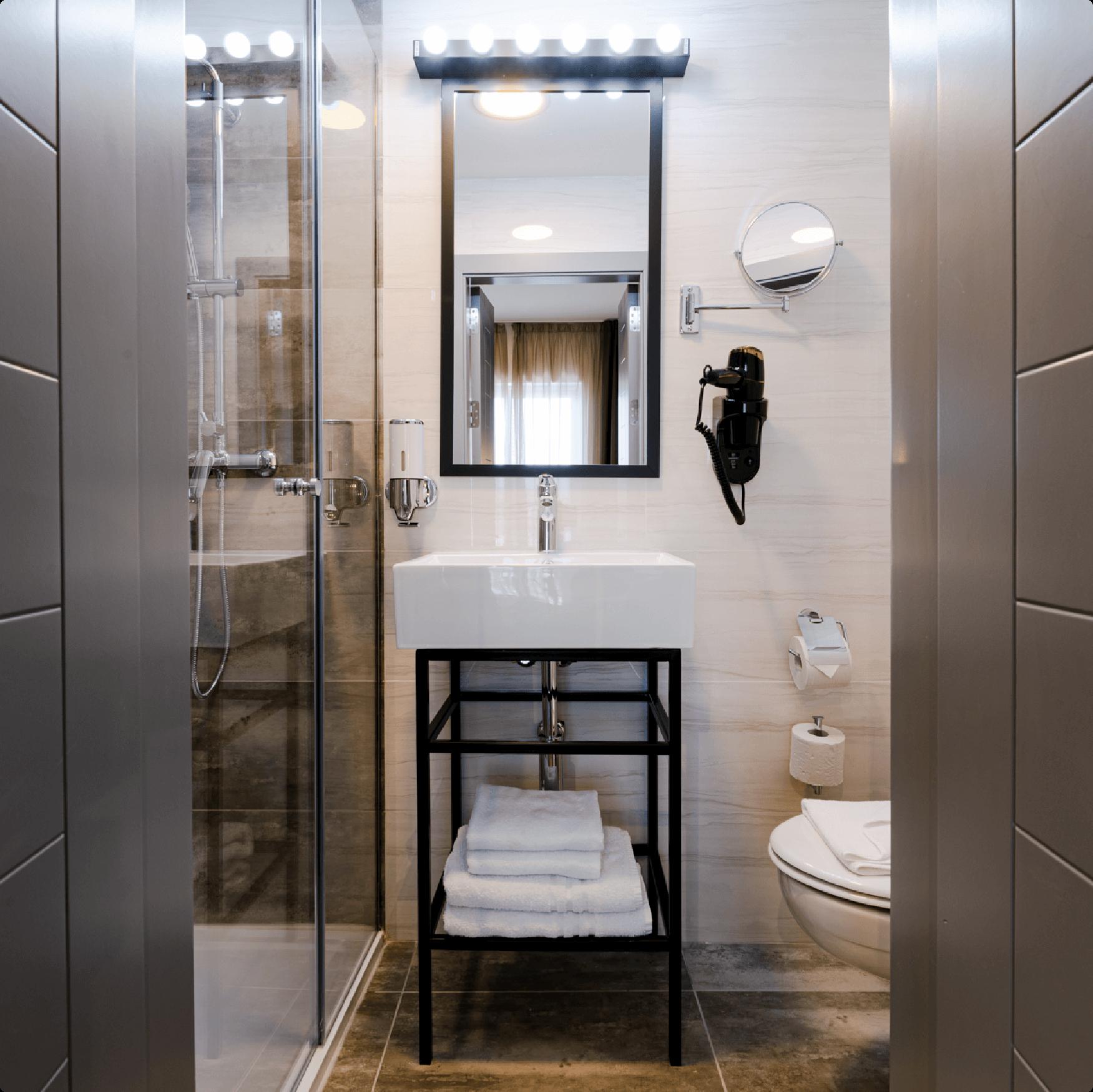 Bathroom at ST Hotel