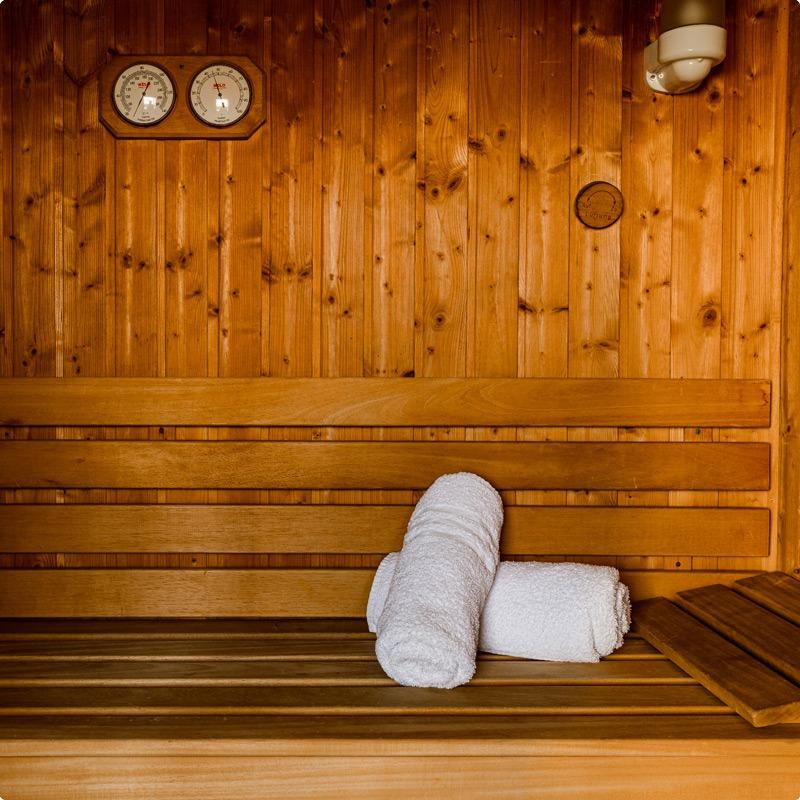 Sauna at St Hotel